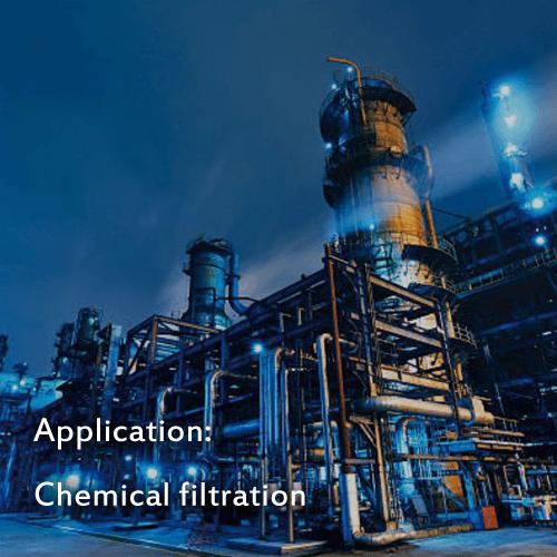 Belt filter cloth for chemical filtration