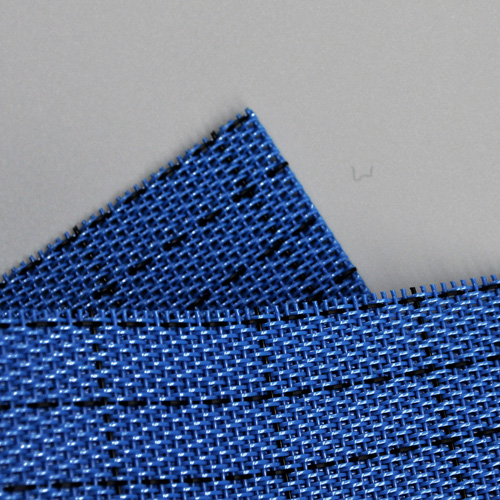 Synthetic woven antistatic process belt