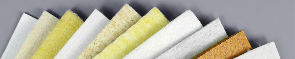 Nonwoven filter cloth for air filter bags