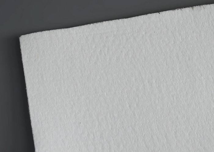 Polyester needle felt filter fabrics