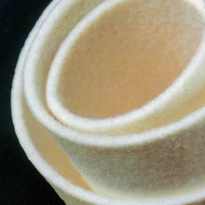 Acrylic needle felt filter fabrics
